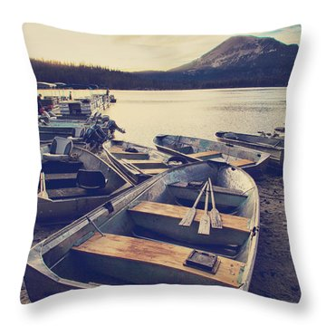 Before Another Day Disappears Throw Pillow