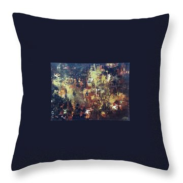 Before Creation Throw Pillow