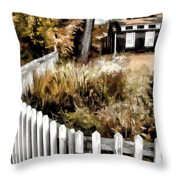 Throw Pillow featuring the photograph Before Snow Flies by Betsy Zimmerli