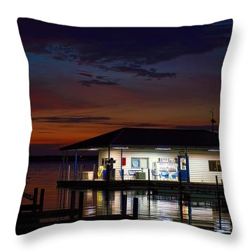 Before Sunrise Throw Pillow by Diana Mary Sharpton