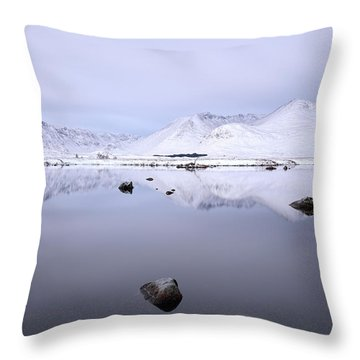 Throw Pillow featuring the photograph Before Sunrise, Glencoe by Grant Glendinning