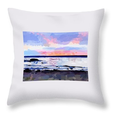 Before Sunrise Throw Pillow