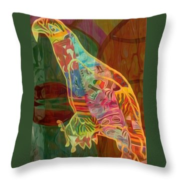 Before Take Off Throw Pillow