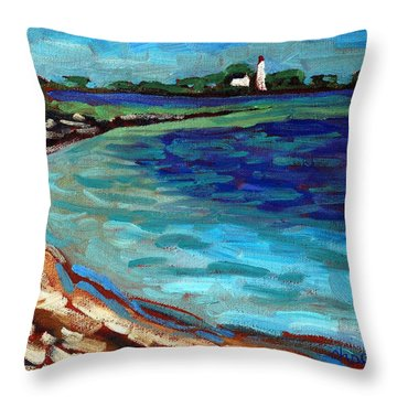 Before The People Throw Pillow by Phil Chadwick