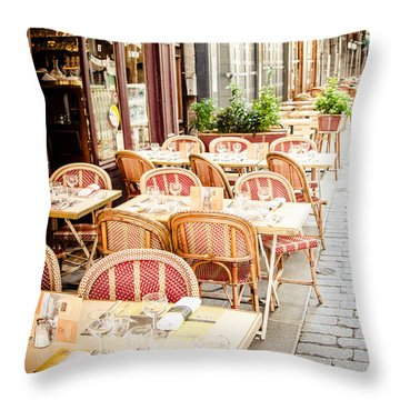Throw Pillow featuring the photograph Before The Rush by Jason Smith