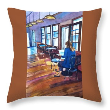 Before The Rush Throw Pillow