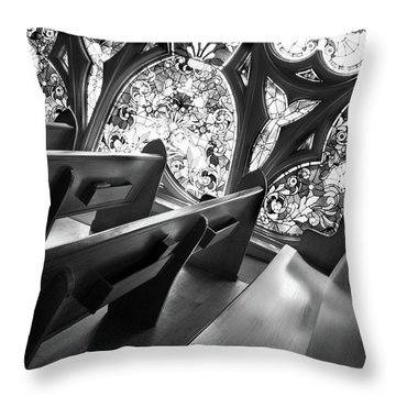 Before Vespers Throw Pillow