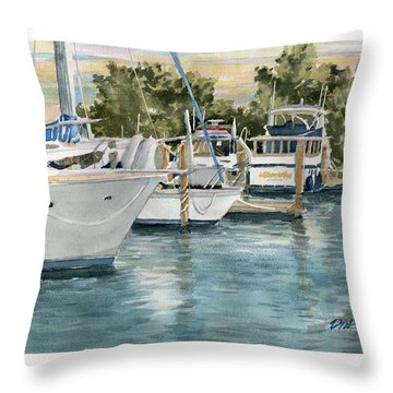 Beginning Another Great Day Throw Pillow
