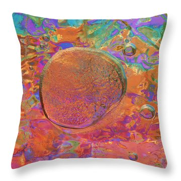 Throw Pillow featuring the photograph Beginning by Sami Tiainen