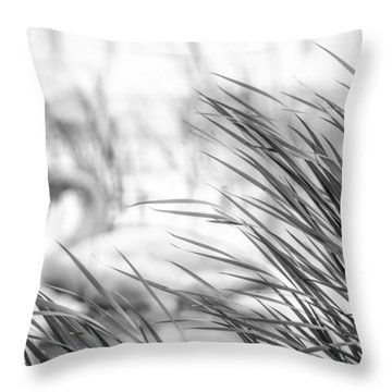 Behind The Grass Throw Pillow