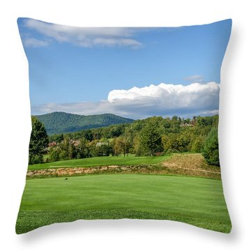 Behind The Tee Throw Pillow