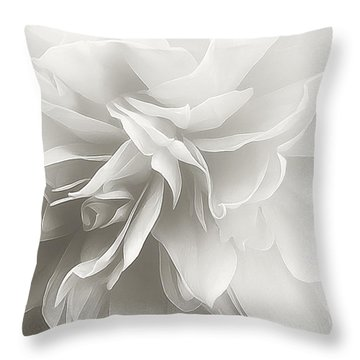 Throw Pillow featuring the photograph Behind The Veil by Darlene Kwiatkowski