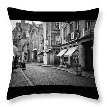 Behind The Walls 01 Throw Pillow