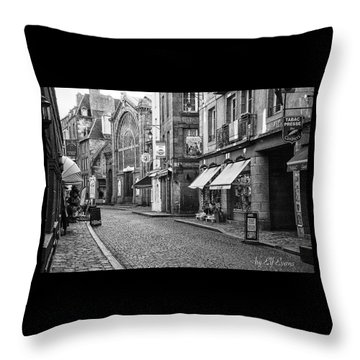 Behind The Walls 2 Throw Pillow