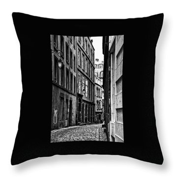 Throw Pillow featuring the photograph Behind The Walls  by Elf Evans