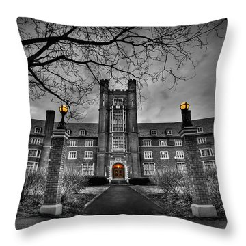 Behold The Night Throw Pillow