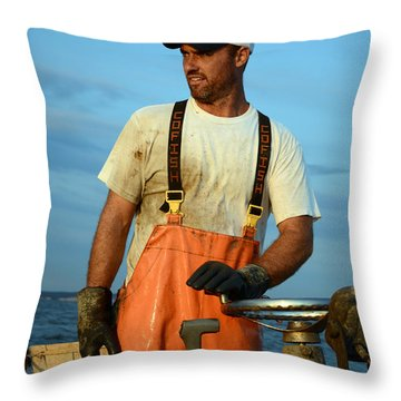 Behold The Waterman Throw Pillow