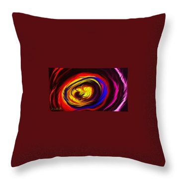 Beholden Throw Pillow by Jennifer Galbraith
