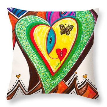 Being Alive - Iv Throw Pillow
