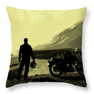 Being In The Movie II Throw Pillow