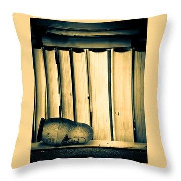 Being John Malkovich Throw Pillow by Bob Orsillo