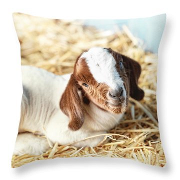 Being New Throw Pillow