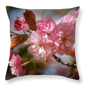 Being Pink - Throw Pillow