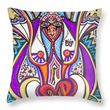 Being Silly Throw Pillow