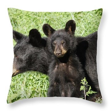 Being Watched Throw Pillow