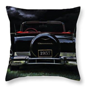 Bel Air Nights Throw Pillow