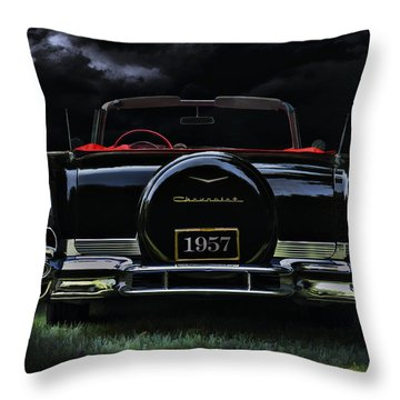 Vintage Chevrolet Throw Pillows