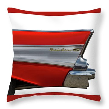 Throw Pillow featuring the photograph Bel Air by Peter Tellone
