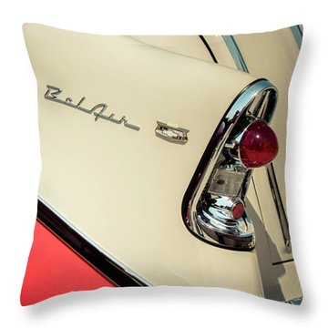 Bel Air Style Throw Pillow by Caitlyn Grasso