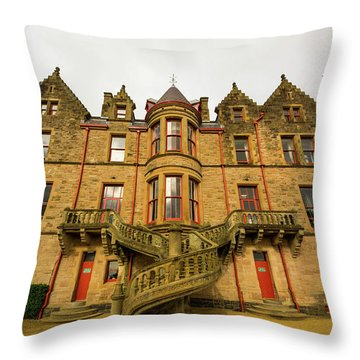 Belfast Castle Throw Pillow