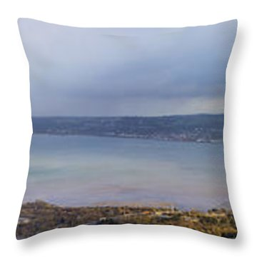Belfast Lough  Throw Pillow