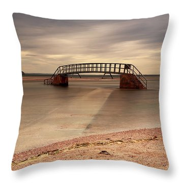 Belhaven Stairs And The Bass Throw Pillow