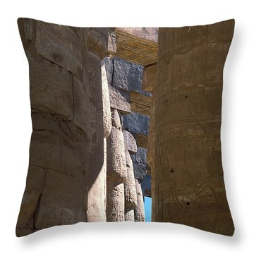 Belief In The Hereafter IIi Throw Pillow
