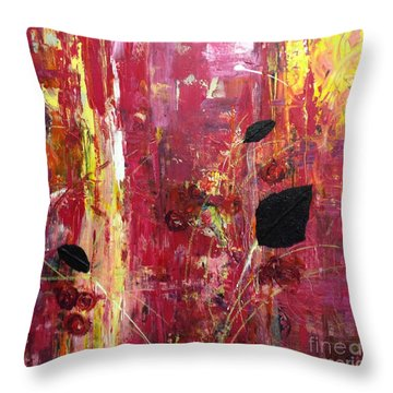 Believe Throw Pillow by Gail Butters Cohen