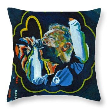 Believe In Love - Chris Martin Throw Pillow