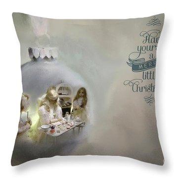 Believe In The Magic Of Christmas Throw Pillow