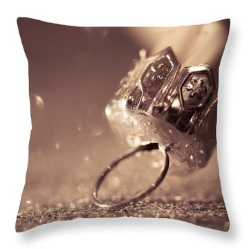 Believe In The Magic Throw Pillow by Yvette Van Teeffelen