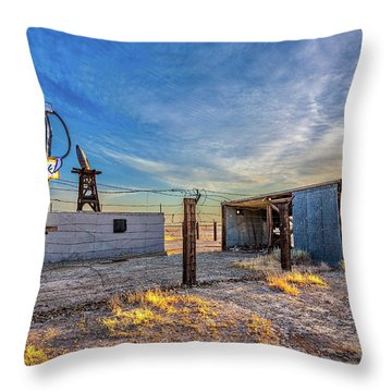 Believe Throw Pillow by Peter Tellone