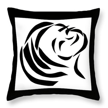 Believing Throw Pillow by Delin Colon