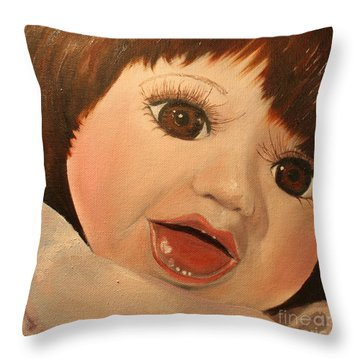 Belinda Throw Pillow by Jane Autry