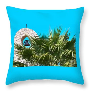 Throw Pillow featuring the photograph Bell by Ray Shrewsberry