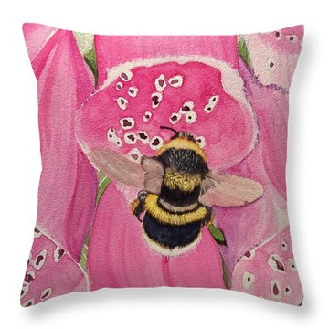 Bell Ringer Throw Pillow