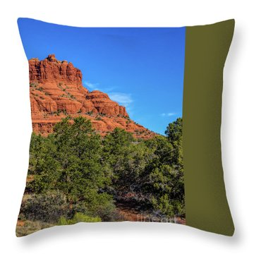 Bell Rock Throw Pillow by Jon Burch Photography