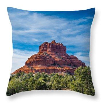 Bell Rock Throw Pillow