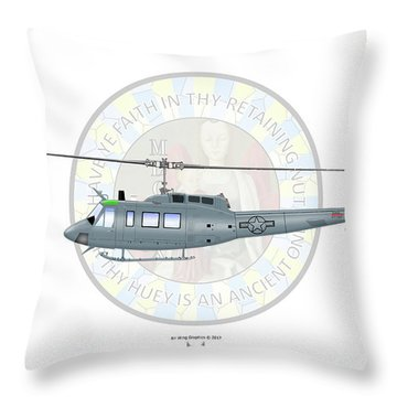 Bell Th-1h Throw Pillow