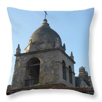 Bell Tower Throw Pillow